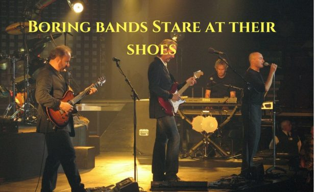 Boring Bands Stare At Their Shoes – Boring Podcasters Stare At Their Technology
