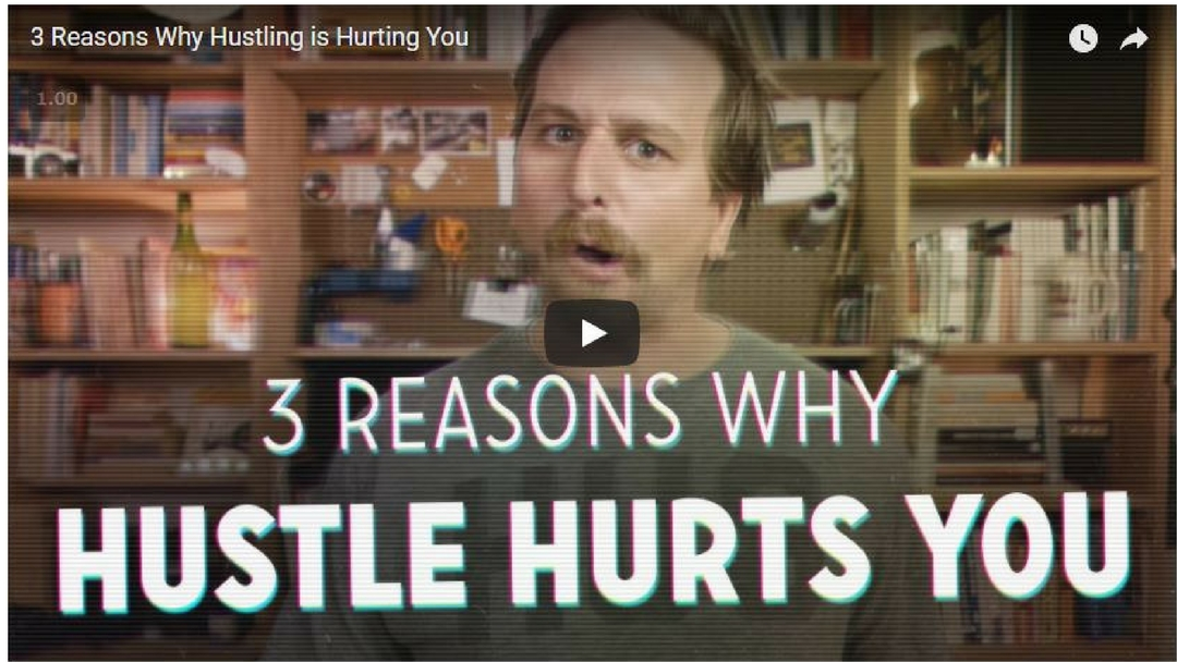 Hustlers Selling Hustle – This Video Hits the Nail on the Head – It HAS TO STOP