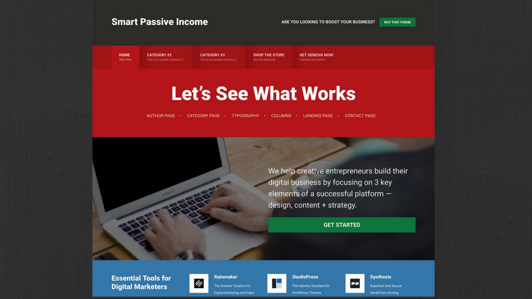 Look at and Feel Like Pat Flynn – New Smart Passive Income Theme For WordPress