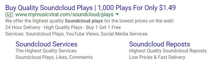 Buy Soundcloud Play results